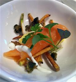 Scottish Salmon Hor d Oueres